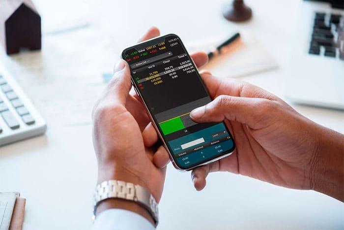 Trading desde el celular en Marret Invest